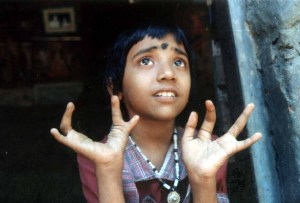 Shruthi, an endosulfan victim in Kerala